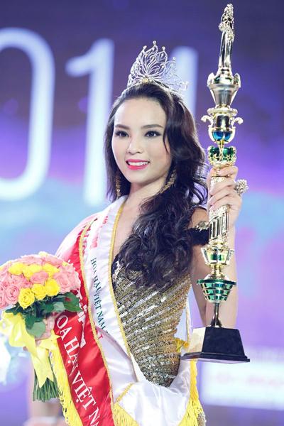 Đăng quang Hoa hậu Việt Nam là bất ngờ lớn đối với Kỳ Duyên