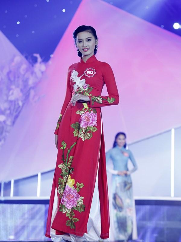 Thí sinh Huỳnh Thị Thùy Vân (sinh viên hệ cao đẳng trường Đại học FPT TPHCM)