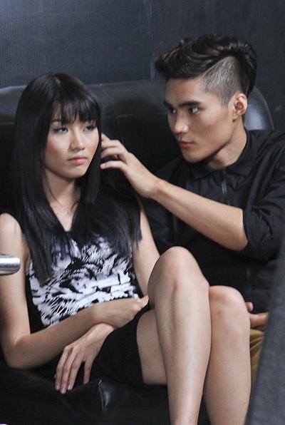 Quỳnh Châu và Quang Hùng đã công khai thể hiện tình cảm