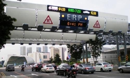 Singapore áp dụng Hệ thống thu phí giao thông điện tử