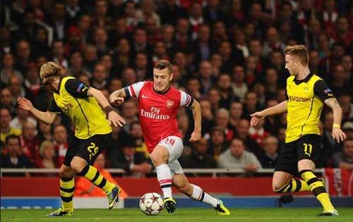Cuộc đối đầu giữa Dortmund và Arsenal luôn rất hấp dẫn.