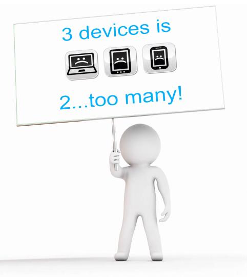 Ý tưởng tích hợp 3 thiết bị gắn liền với cuộc sống hiện đại trong 1 sản phẩm