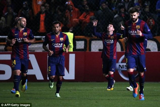 Lionel Messi đã trở thành cầu thủ ghi nhiều bàn thắng nhất tại Champions League