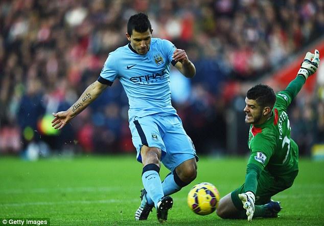 Sergio Aguero đã có một mùa giải 2013/2014 khá xuất sắc cùng Man City
