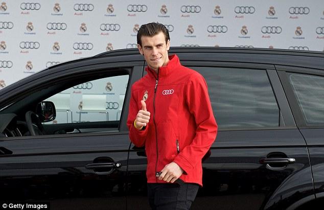 Gareth Bale cùng 11 đồng đội khác chọn mẫu SUV Audi Q7 TDI 3.0