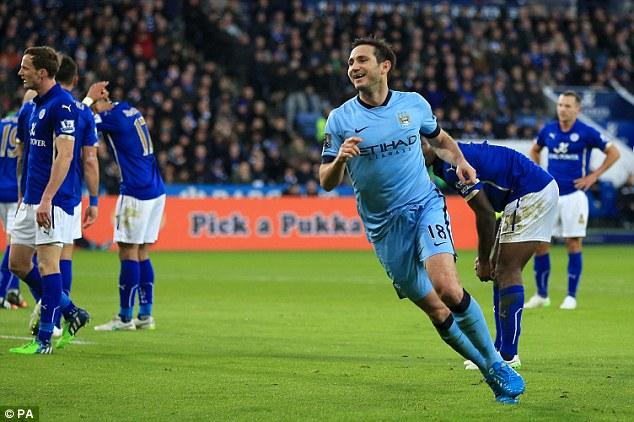 Frank Lampard đã trở thành bô lão tại Premier League với độ tuổi  36