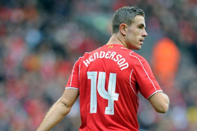 Henderson sắm vai thủ lĩnh của Liverpool trong trận gặp Swansea.