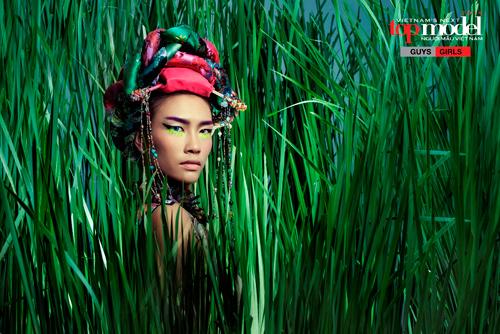 Thí sinh Next Top Model hóa thổ dân da đỏ - 7