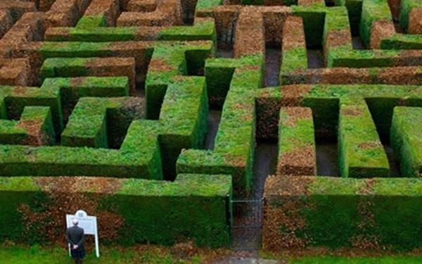 Mê cung Traquair, Scotland