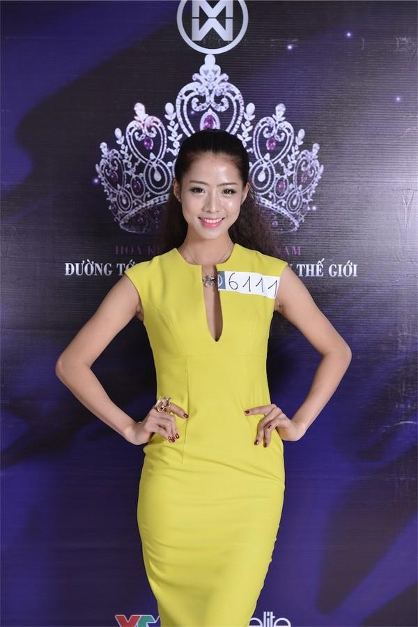 Người mẫu tự do đến từ Ninh Bình Nguyễn Thị Thu Thủy