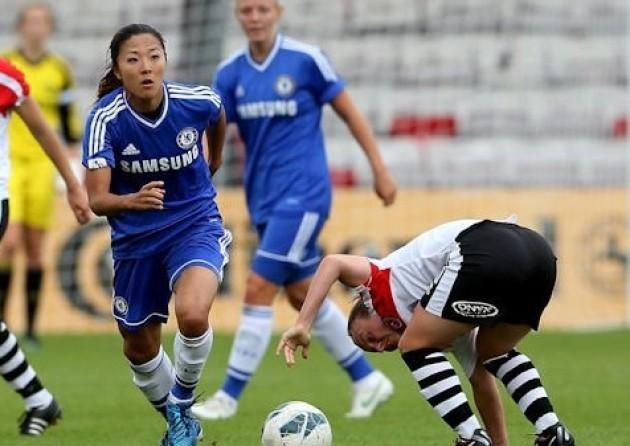 Không có sát thủ Ogimi của Chelsea nhưng nữ Nhật Bản vẫn ghi đến 25 bàn thắng qua 4 trận đấu tại ASIAD năm nay.