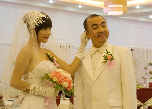 Nhã Phương đóng cặp cùng nghệ sĩ Quốc Thuận trong phim