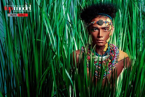 Thí sinh Next Top Model hóa thổ dân da đỏ - 8
