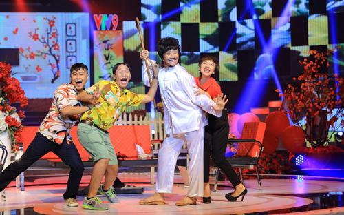 Trấn Thành cùng với Thu Trang, Anh Đức và La Thành sẽ gửi đến khán giả một tiết mục hài