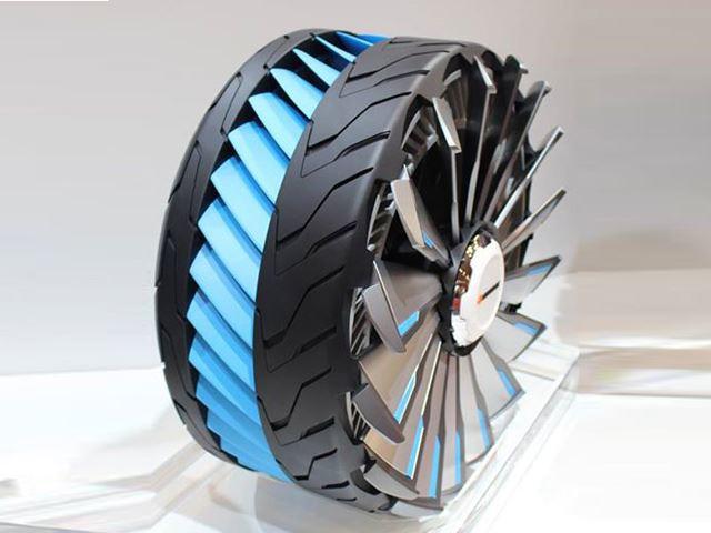 Mẫu thiết kế lốp xe Hyblade