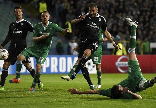 Real dù sao cũng đã có được chiến thắng và C.Ronaldo đang tiến sát kỷ lục ghi bàn tại Champions League của chúa nhẫn Raul.