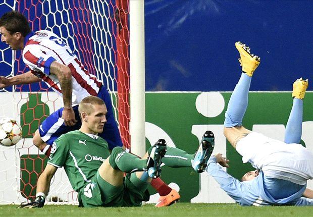 Thi đấu bế tắc trong hiệp 1, tuy nhiên, Atletico Madrid đã thực sự bùng nổ trong hiệp đấu thứ 2.