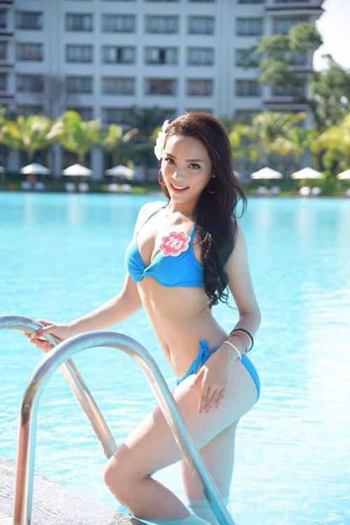 Hot girl 18 tuổi giảm 15kg để thi Hoa hậu Việt Nam - 5