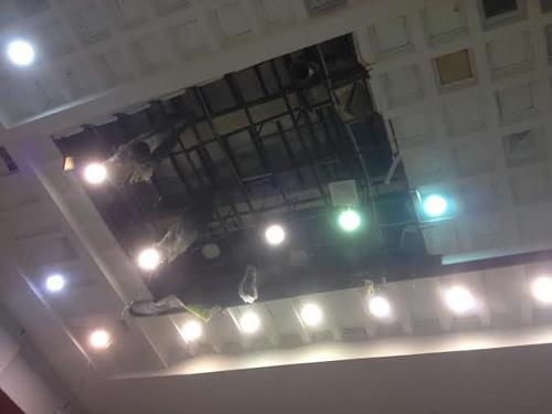 sập, trần nhà, cầu lông