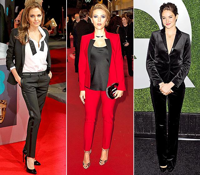 Angelina Jolie, Scarlett Johansson, and Shailene Woodley