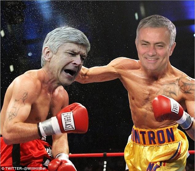 Mourinho là người được hưởng niềm vui chiến thắng