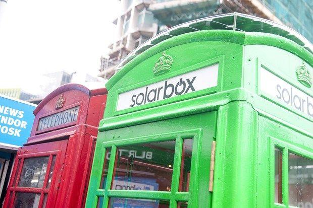Dự án Solarbox đang được thực hiện tại London