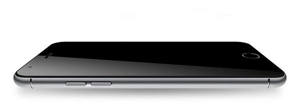 Sản phẩm giống iPhone 6 từ đường bo tròn trên thân máy cho tới nút Home