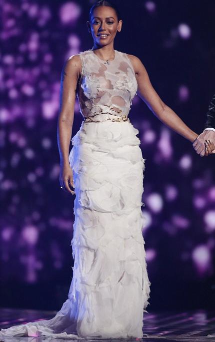 Giám khảo Mel B xuất hiện trong chương trình