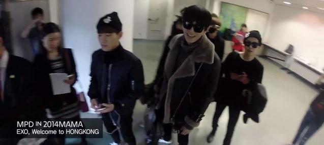 EXO đã có mặt tại Hong Kong.