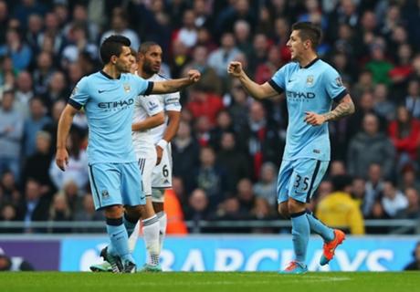 Bộ đôi Jovetic và Aguero sẽ mang lại chiến thắng cho Man City?