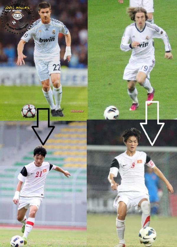 Những Xabi Alonso và Luka Modric của Việt Nam.