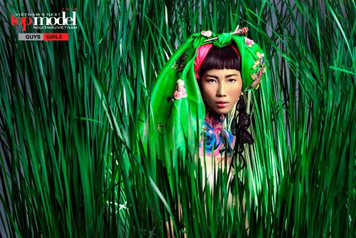 Thí sinh Next Top Model hóa thổ dân da đỏ - 11