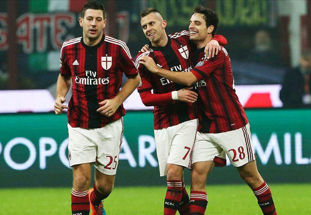 AC Milan đã vươn lên vị trí thứ 6
