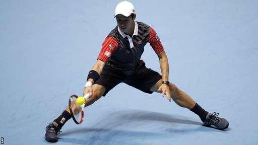 Kei Nishikori đã không thể làm lên bất ngờ trước Federer
