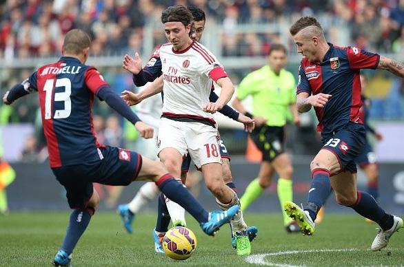 Montolivo không thể giúp AC Milan tránh được thất bại