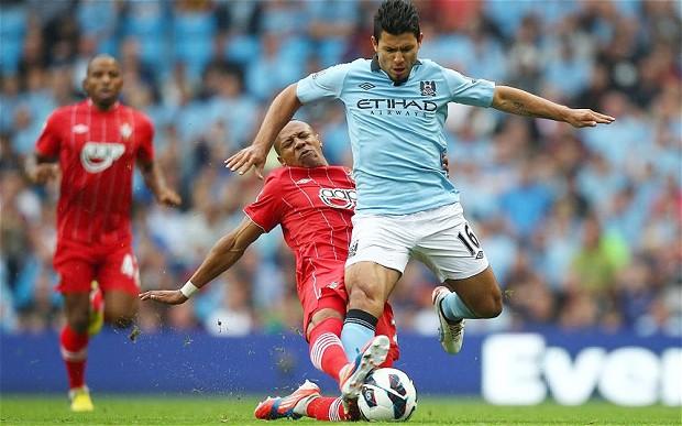Aguero sẽ lập công giúp Man City soán ngôi nhì bảng từ tay Southampton?