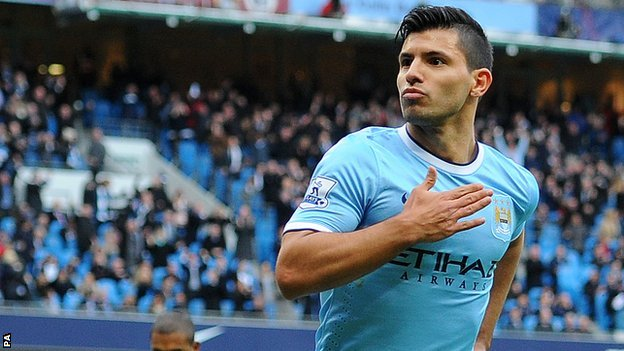 Aguero sẽ giúp Man City chiến thắng?