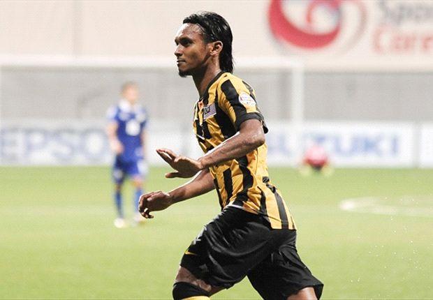 Tay săn bàn Amri Yahyah rất muốn thể hiện mình sau khi vắng mặt ở trận lượt đi vì án treo giò.