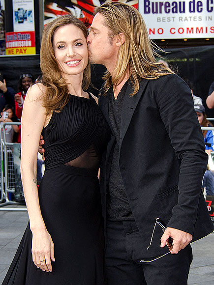 The couple, who secretly wed on Aug. 23, prove their love is strong in June 2013 at the London premiere of World War Z, which Pitt starred in and produced. I think the world of her. She is an amazing woman, he says of Jolie, who made her first public appearance at the event following a preventative double mastectomy.