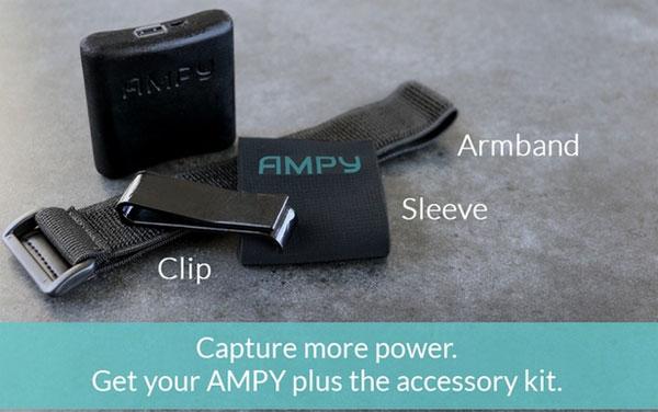 AMPY cũng được trang bị một số phụ kiện đi kèm