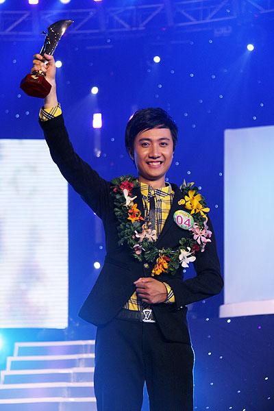 Anh Duy giành giải Nhất cuộc thi Người dẫn chương trình truyền hình 2009