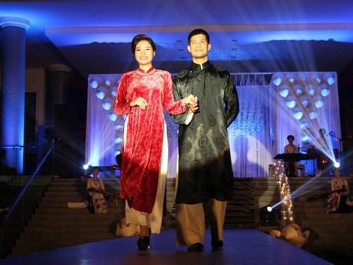 BST củaNSƯT- NTK Thu Hà - chủ nhân của những bộ áo dài mang phong cách cổ điển.