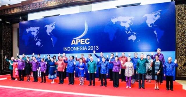 Các nguyên thủ quốc gia tham dự Hội nghị APEC 21 tại Indonesia. (Ảnh: Chinhphu.vn)