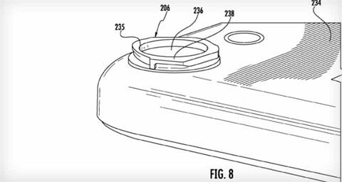 Thông tin về camera trên iPhone trong bằng sáng chế của Apple