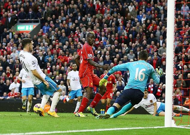 Hàng công Liverpool thêm lần nữa gây thất vọng.