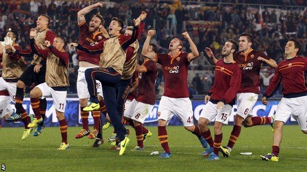 AS Roma đang thi đấu rất thăng hoa
