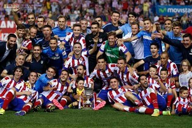 Atletico Madrid đã đánh bại Real Madrid để đoạt Siêu cúp Tây Ban Nha