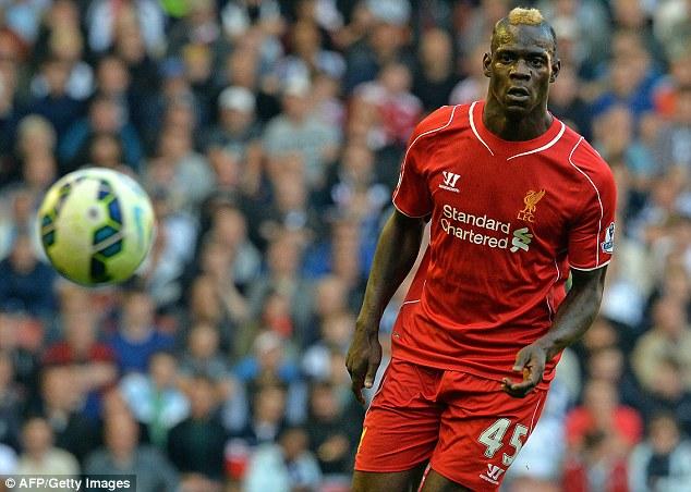 Balotelli vẫn chưa là chính mình kể từ khi đầu quân cho Liverpool.