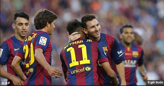 "Barcelona ""đánh tennis"" tại La Liga"