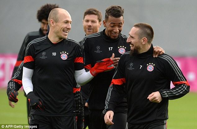 Bayern Munich đã chắc suất vào vòng đấu loại trực tiếp